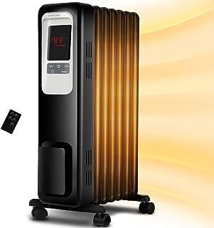 Calentador de espacio, Aireplus 1500 W de aceite, calentador