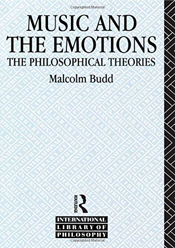Music and the Emotions: The Philosophical Theories (Internat