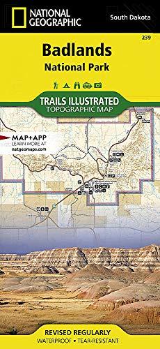 Badlands National Park: South Dakota, USA Outdoor Recreation Map (National Geographic Maps: Trails I