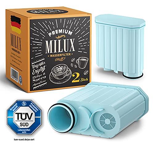 Wasserfilter für Philips & Saeco AquaClean | TÜV ZERTIFIZIERT | von Milux