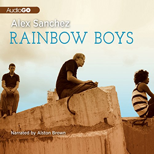 Rainbow Boys audiobook cover art
