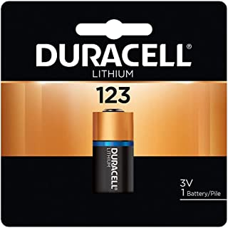 Duracell DL123ABU 3V Ultra Lithium Battery (Pack of 1)