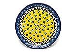 Polish Pottery Plate - Bread & Butter (6 1/4') - Sunburst