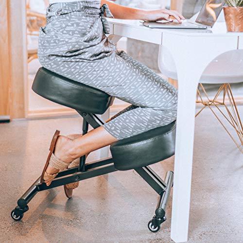 How An Ergonomic Kneeling Chair Heals Bad Back & Neck?