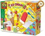 SES Creative Fábrica de helados de plastilina SES, multicolor (00444) , color/modelo surtido