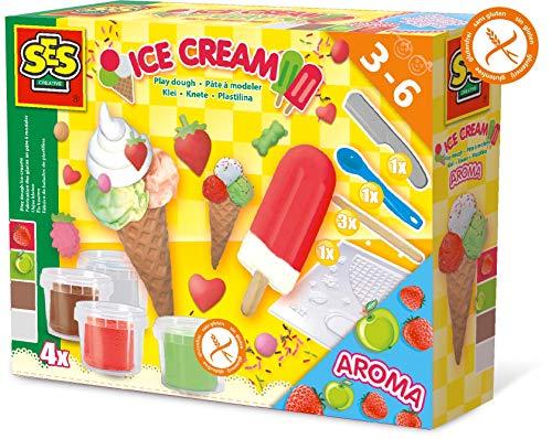 SES Creative SES Plasticine Ice Cream Factory, Multicolor (00444)