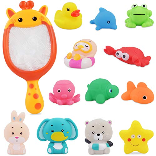 PETPLUS Bathtub Toys (12 Pcs) Baby Bath Toys for...