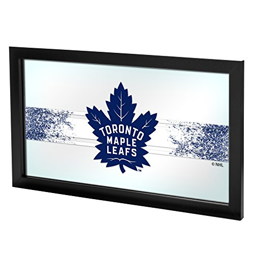Trademark Gameroom NHL Toronto Maple Leafs Framed Logo Mirror