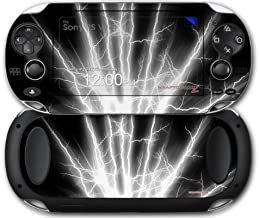 Sony PS Vita Skin Lightning White by WraptorSkinz by WraptorSkinz