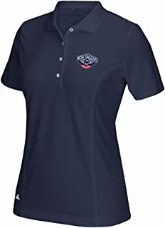 adidas New Orlean Pelicans Taylormade Puremotion Women's Performance Golf Polo Shirt