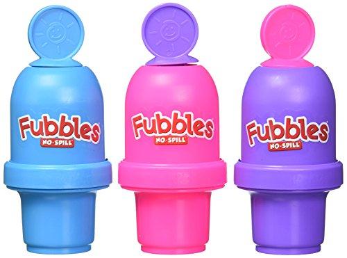 Little Kids Fubbles No Spill Bubble Tumbler Mini 3 Pack...