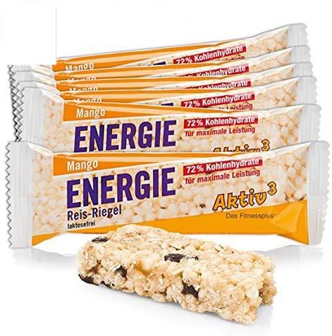 Energie Reis-Riegel Mango Aktiv3 11er-Pack