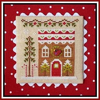 Gingerbread Village 6-Gingerbread House 4 Cross Stitch Chart