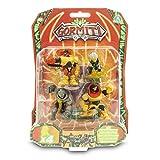 Gormiti - Serie 2, 1 paquete de 4 figuras de 5 cm