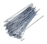 Steel Chain Link Residential Fence Ties 100 Count Pack 6 1/2 Inch Long 14 Gauge