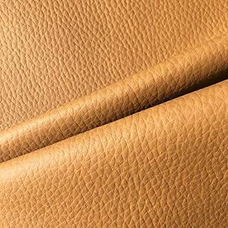 Kt KILOtela Tela por Metros de Polipiel para tapizar - Tapicería - Ancho 140 cm - Largo a elección de 50 en 50 cm | Marrón Camel