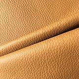 Tela por metros de polipiel para tapizar - tapicería - ancho 140 cm - largo a elección de 50 en 50 cm | marrón camel