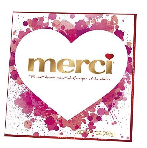 Merci Assorted Valentine's Day Chocolates, 7 Ounce