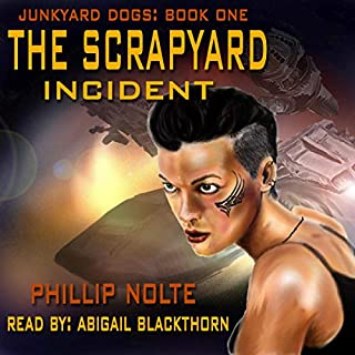 The Scrapyard Incident audiobook cover art