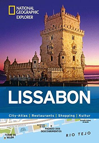 Lissabon erkunden mit handlichen Karten: Lissabon-Reiseführer für die schnelle Orientierung mit Highlights und Insider-Tipps. Lissabon entdecken mit ... Kultur (National Geographic Explorer)