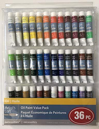 Artist's Loft Oil Paint Value Pack 36 Piece