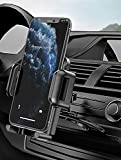 2021 Upgraded Mpow Car Mount, CD Slot Car Phone Mount, Cell Phone Holder for Car with Three-Side Grips Compatible with iPhone 12/12Mini/12Pro/12Pro Max/11 Series/XR/X/8/6, Galaxy S10/20 Series/S9/S9+
