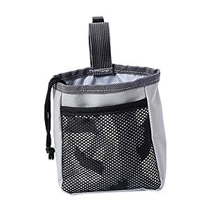 non-brand magideal Entraînement du chien sac Doublure poche de doublure Snack Sac pochette sac Friandises pour chien Outdoor Training