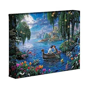 Thomas Kinkade Disney Little Mermaid II 8 x 10 Gallery Wrapped Canvas