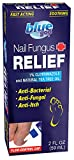 Blue Goo Nail Fungus Relief, Triple Action Relief, Fingernail and Toenail Fungus Relief, Made with Natural Tea Tree Oil, Helps Cure Athlete's Foot, Ringworm and Jock Itch, 2 Fl Oz