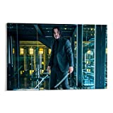DRAGON VINES John Wick Keanu Reeves - Lienzo decorativo para pared, diseño de cuchillo de Keanu Reeves, 40 x 60 cm