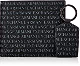 Armani Exchange Wallet And Keyring Set - Portafogli Uomo, Nero (Black), 10.5x3x19 cm (B x H T)