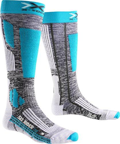 X-Socks SKI Rider 2.0 Lady Sokken, grijs