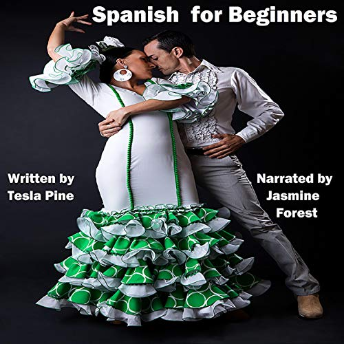 Spanish for Beginners audiobook cover art