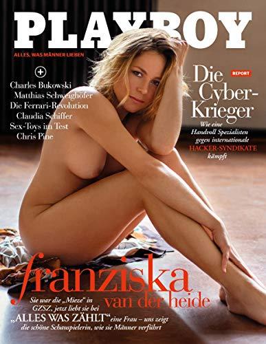 Playboy 09/2020 Franziska van der Heide! Sie war die