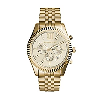 Michael Kors Orologio Cronografo Quarzo Uomo con Cinturino in Acciaio Inossidabile MK8281 (B009DFA43Q) | Amazon price tracker / tracking, Amazon price history charts, Amazon price watches, Amazon price drop alerts