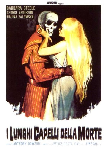 Movie Posters The Long Hair of Death - 11 x 17