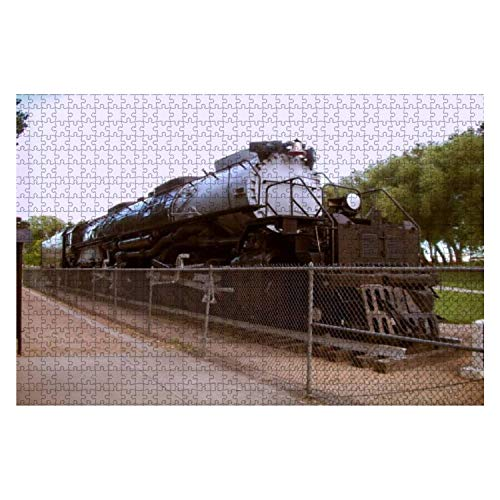 Union Pacific's Big Boy 4014 Steam Locomotive 1000 Piece Wooden Jigsaw Puzzle DIY Children Educational Puzzles Adult Decompression Gift Creative Games Toys Puzzles Home Decor -  Victoria Kay