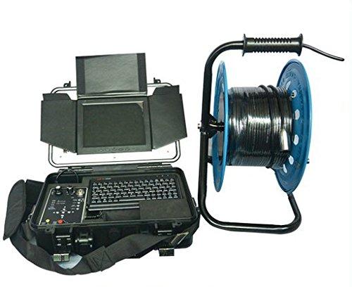 GOWE 30 m cable carcasa racor para tuberías de chimeneas cámara de inspección con grabación de vídeo Sensor tamaño: 0,64 cm ; Resolución Horizontal: 420TVL; Sistema de señal: NTSC