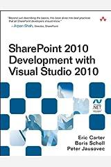 SharePoint 2010 Development with Visual Studio 2010 (Microsoft Windows Development Series) Kindle Edition