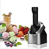 KEYREN Helado para el hogar Maker - Uso doméstico portátil Fruit Soil Sirva la máquina de Yogurt congelado Hacer Delicioso Helado sorbetas y creador de Yogurt congelado Postre Maker silencioso Casero