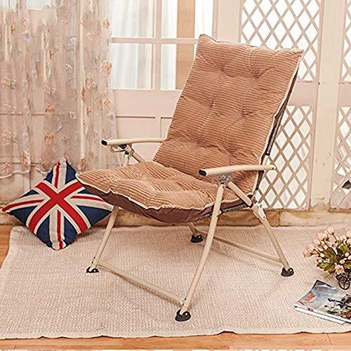 JCM Fauteuil inclinable famille canapé chaise de bureau salon dortoir amovible sans repose-pieds ZJ (Color : D)