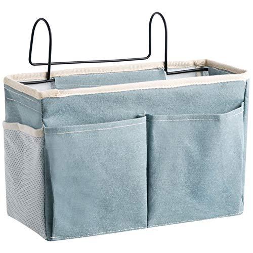 Fuyamp Cesto de almacenamiento organizador multifunción organizador organizador titular para cabeceros literas cama de hospital disfrute (7)