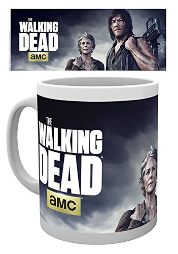 empireposter Walking Dead, The - Carol and Daryl - Keramik Tasse - Größe Ø8,5 H9,5cm