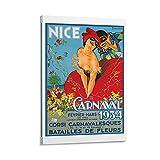 XCNGG Karneval in Nizza Poster dekorative Malerei Leinwand