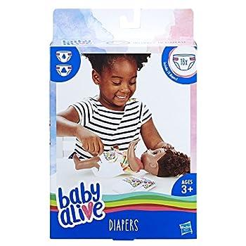 Baby Alive Ba Diaper Refill Baby-Dolls & Accessories