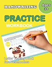 Letter Tracing Book for Preschoolers: Trace Letters Of The Alphabet and Number: Preschool Practice Handwriting Workbook: Pre K, Kindergarten and Kids ... Reading And Writing (Wipe Clean) (Volume 4)
