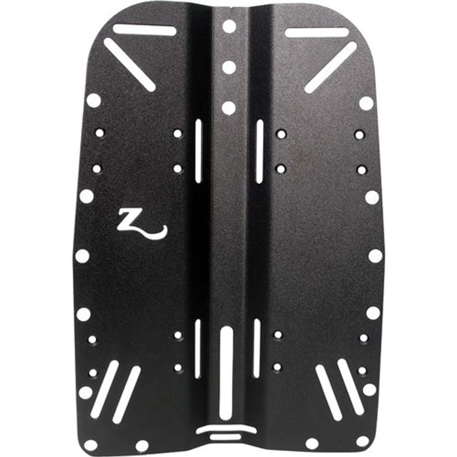 Zeagle Black Anodized Aluminum Backplate by Zeagle
