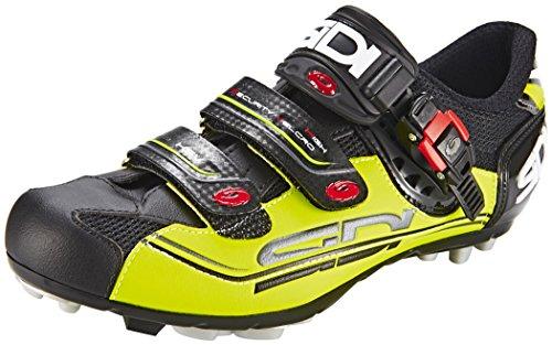Sidi MTB Eagle 7 Fahrradschuhe Herren black/yellow Größe 43 2017 Mountainbike-Schuhe