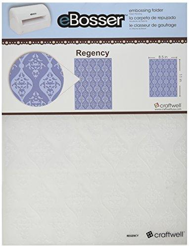 Craftwell USA Regency Embossing Folder, 8.5 by 11-Inch