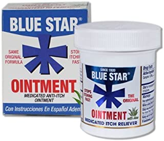 Blue Star Ointment - 2 oz Pack of 4